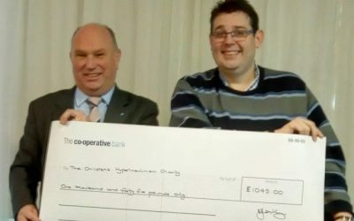 Travel Retail Consortium presents fund-raising cheque to children's charity